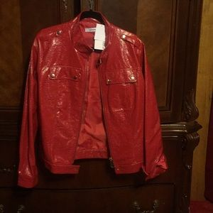 Just Fab Red Jacket